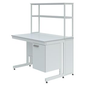 Столы лабораторные пристенные